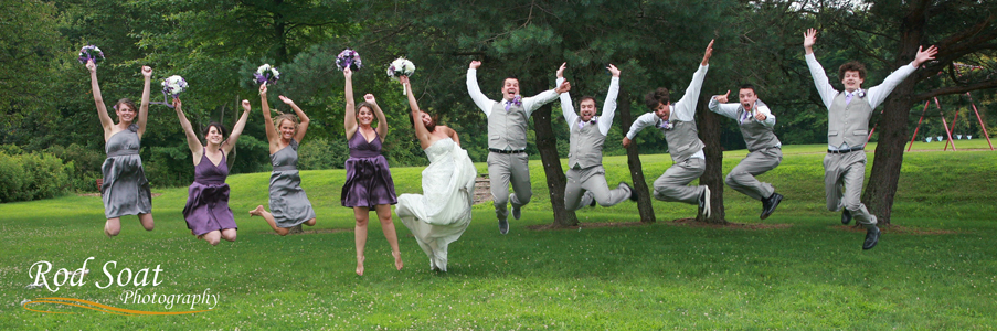 Wedding Photo Bridal Party