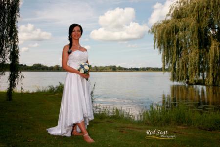 Wedding Picture at Lake