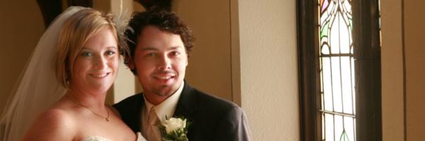 Wedding Portrait Natural Light