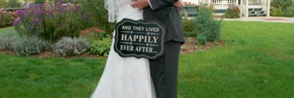 Wedding Portrait Bride & Groom