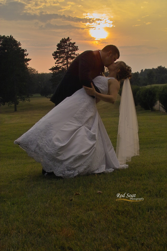 Wedding Picture Sunset