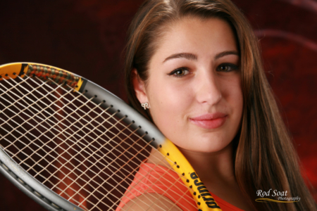 Senior Portrait Tennis