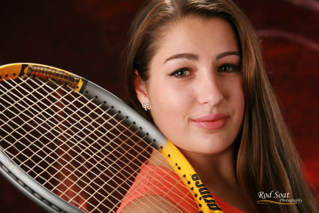 Senior Portrait Tennis